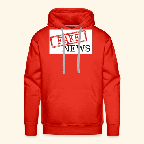 fake news - Men's Premium Hoodie