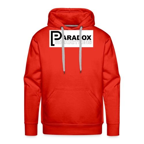 Logo Paradox Prod - Sweat-shirt à capuche Premium pour hommes