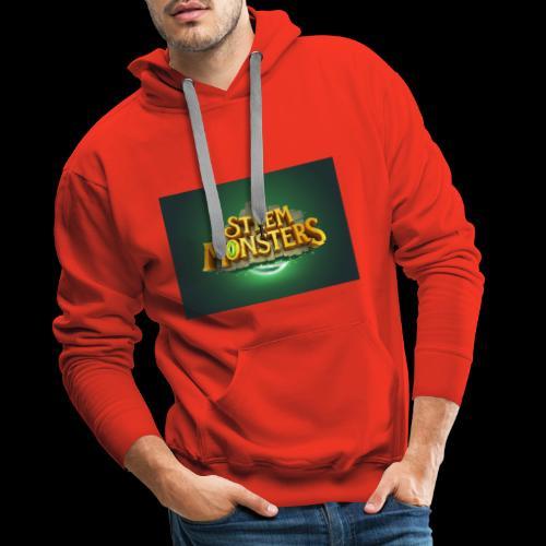 steem monsters - Männer Premium Hoodie