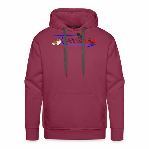 Tayola gris - Sweat-shirt à capuche Premium pour hommes