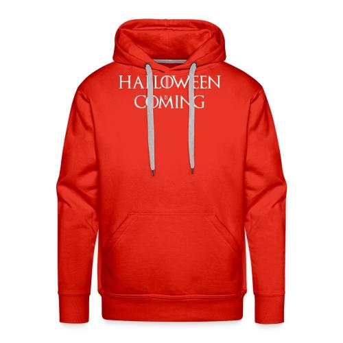 Halloween is coming - Sweat-shirt à capuche Premium pour hommes