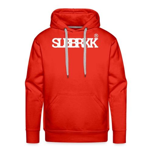 SLBBRKK white - Mannen Premium hoodie
