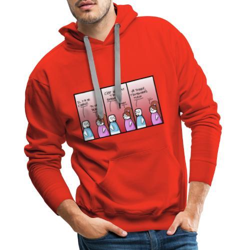 orage - Sweat-shirt à capuche Premium pour hommes