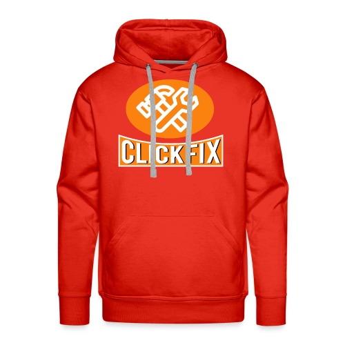 Clickfix 60' - Herre Premium hættetrøje