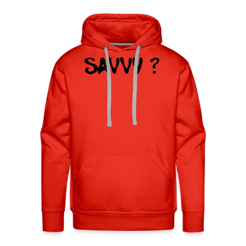 savvy? - Mannen Premium hoodie