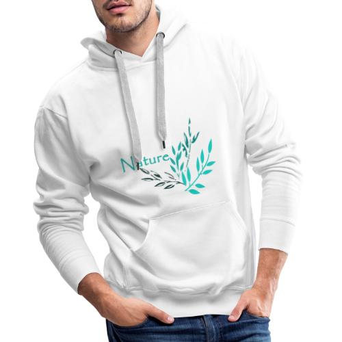 Nature - Natur - Männer Premium Hoodie