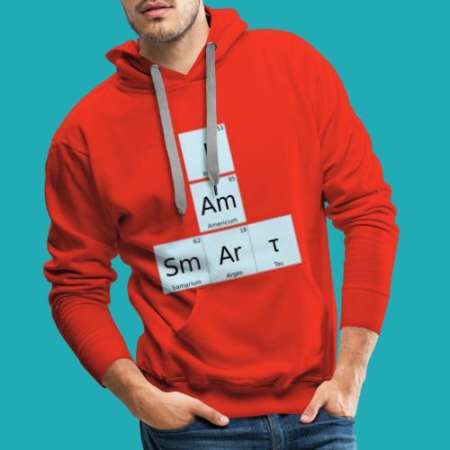 I Am Smart Periodic Table Design - Men's Premium Hoodie
