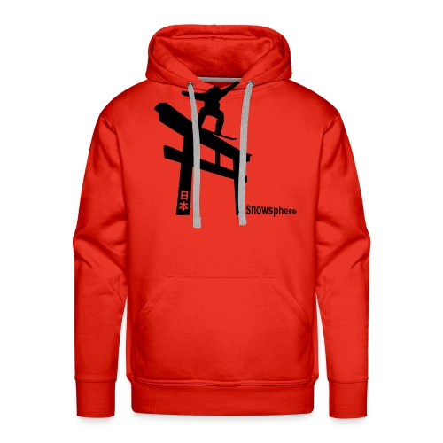 Snowboard Japan Torii Slide - Men's Premium Hoodie