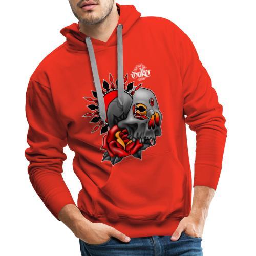 skullmandala - Mannen Premium hoodie
