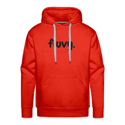 Fluvy Gone - Sweat-shirt à capuche Premium pour hommes