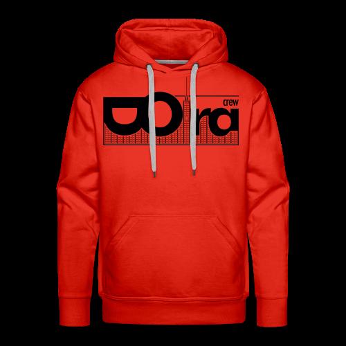 DORA Crew Logo II - Felpa con cappuccio premium da uomo