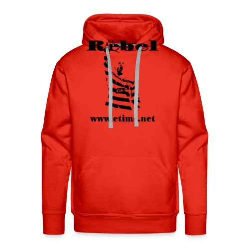 spreadshirt rebel - Men's Premium Hoodie
