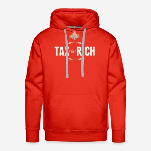 Tax the Rich, vit - Premiumluvtröja herr