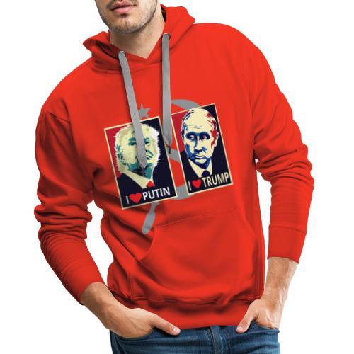 Trump Putin - Mannen Premium hoodie