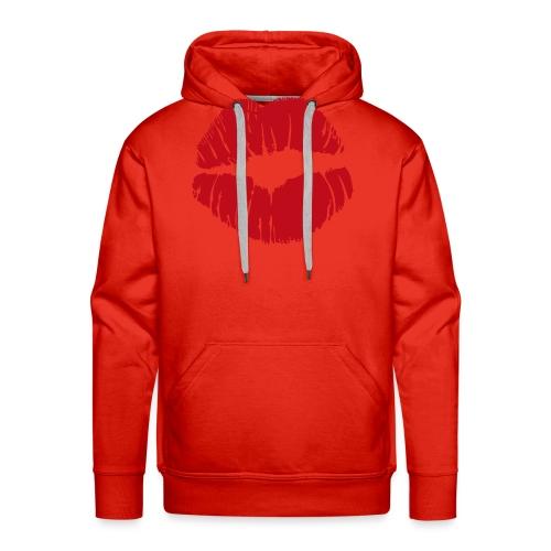 baiser - Sweat-shirt à capuche Premium pour hommes