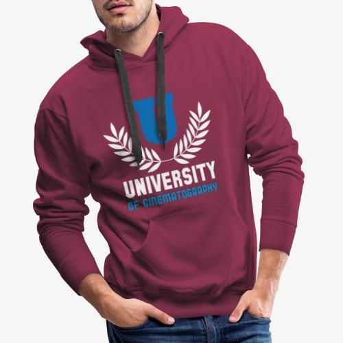 University 5 - Sudadera con capucha premium para hombre