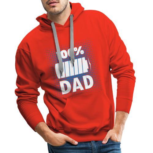 FATHERS DAY DESIGN - Men's Premium Hoodie