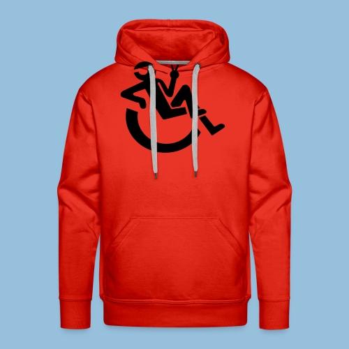 Happyweelchair1 - Mannen Premium hoodie