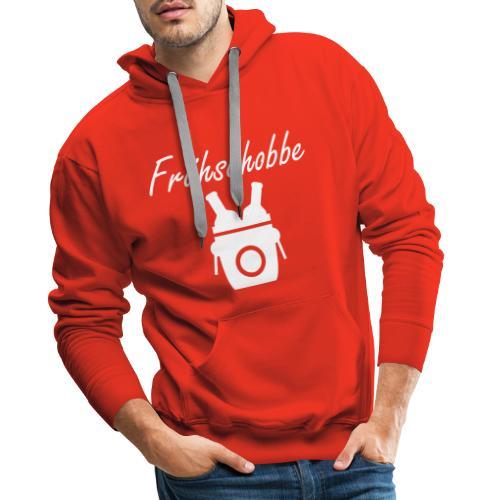 fruehschobbe white - Männer Premium Hoodie