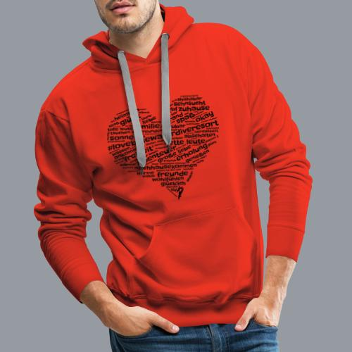 #lovebluewaterdiveresort - Männer Premium Hoodie
