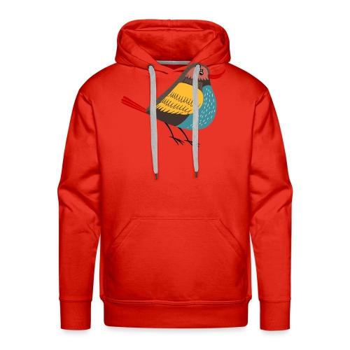 hippe vogel1 - Mannen Premium hoodie