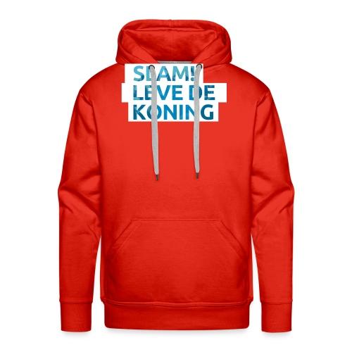 Slam leve de koning! - Mannen Premium hoodie
