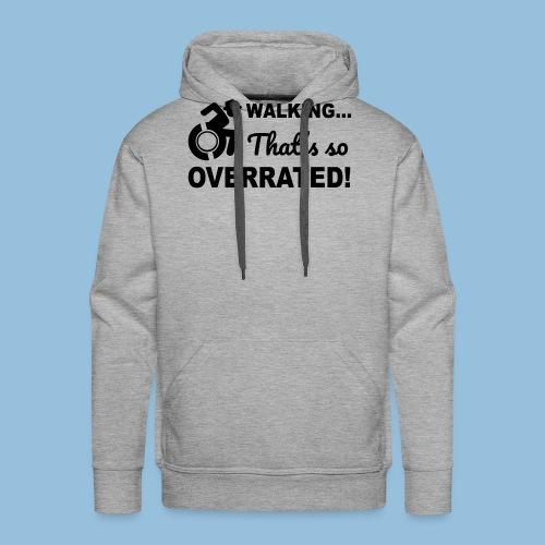 Walkingoverrated2 - Mannen Premium hoodie