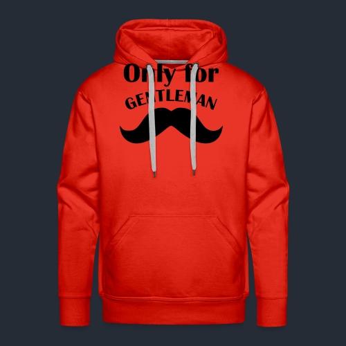 Gentleman T Shirt Junggesellenabschied 1 - Männer Premium Hoodie
