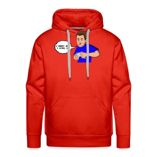 I dont age quote cartoon - Men's Premium Hoodie