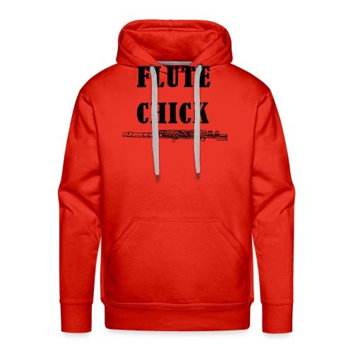 Flute Chick - Premium hettegenser for menn