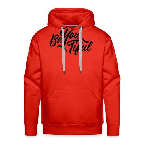 be-you-tiful by Saltees.nl - Mannen Premium hoodie