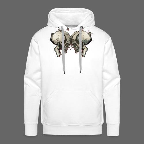 MHF_Logo_Loose-Skulls - Men's Premium Hoodie