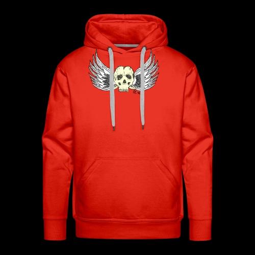 Skull 'n' Wings Color - Männer Premium Hoodie