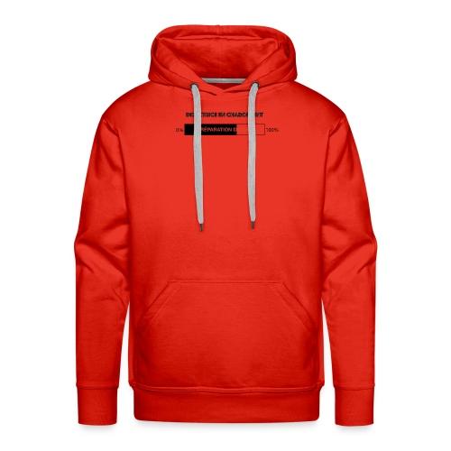 Directrice en chargement - Sweat-shirt à capuche Premium pour hommes