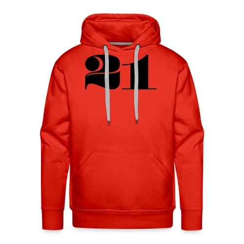 21 - TWENTY ONE - Men's Premium Hoodie