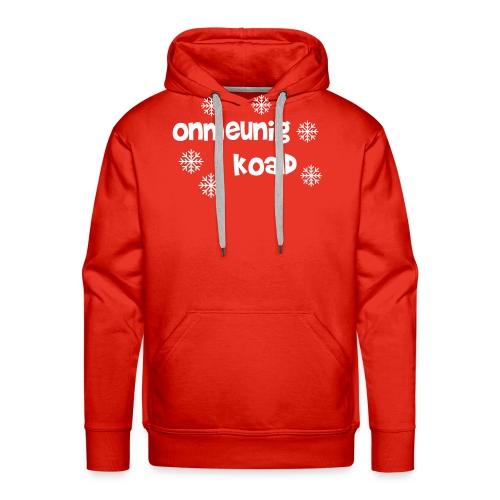 oh oh oh wat is het koud - Mannen Premium hoodie