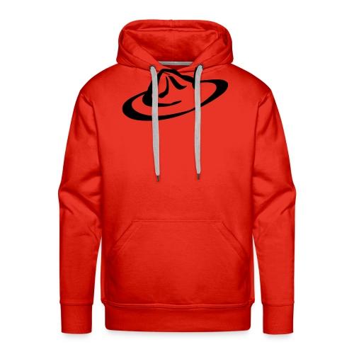 logo hoed - Mannen Premium hoodie