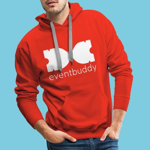 Eventbuddy White - Männer Premium Hoodie