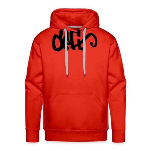 DeFt - Sweat-shirt à capuche Premium pour hommes