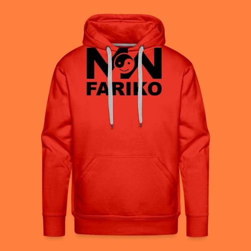 fariko mw black - Mannen Premium hoodie