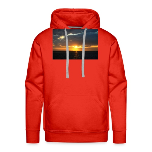 t-shirt zonsondergang - Mannen Premium hoodie