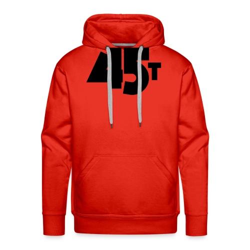 45t - Sweat-shirt à capuche Premium pour hommes