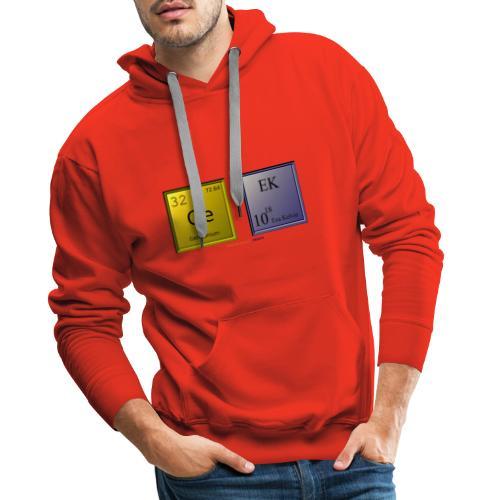 GEEK IV - Sweat-shirt à capuche Premium pour hommes