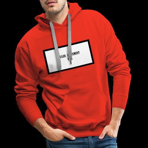 LENT - Sweat-shirt à capuche Premium pour hommes