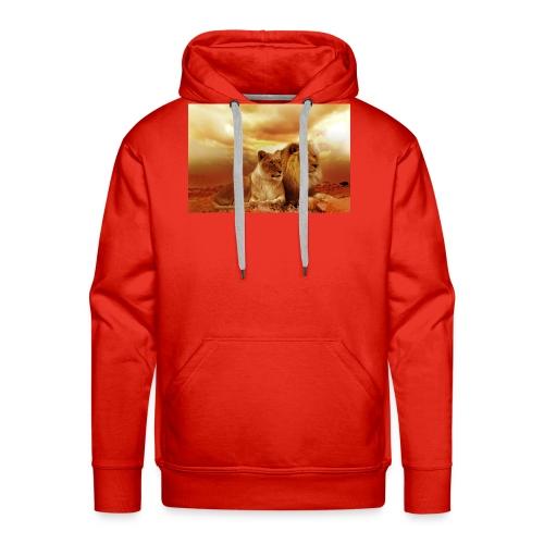 Löwen Lions - Männer Premium Hoodie