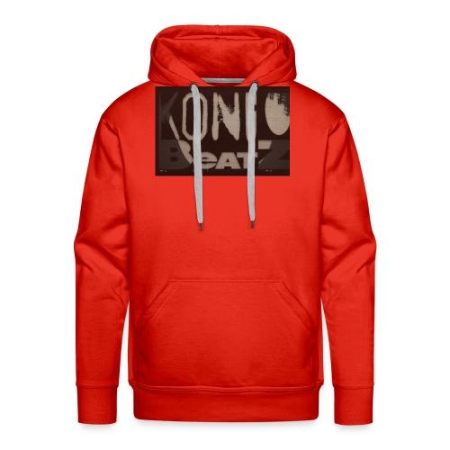 KONGOBEATZ DESIGN - Sweat-shirt à capuche Premium pour hommes