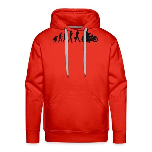 Evolution de l'homme - Sweat-shirt à capuche Premium pour hommes