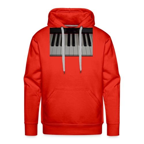Piano - Mannen Premium hoodie
