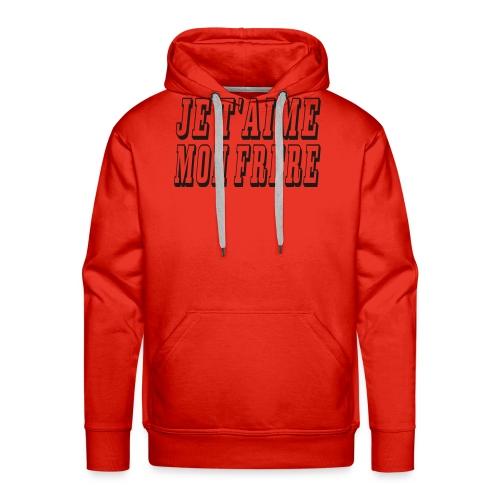 frere - Sweat-shirt à capuche Premium pour hommes