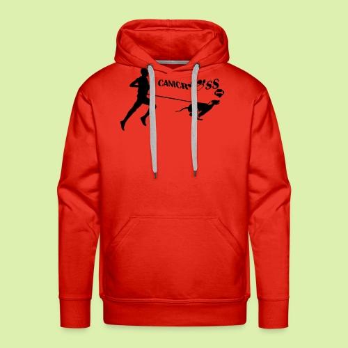 CANICROSS - Sweat-shirt à capuche Premium pour hommes